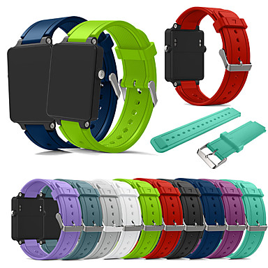 cheap New Arrivals-Watch Band for Vivoactive Acetate Garmin Sport Band Silicone Wrist Strap
