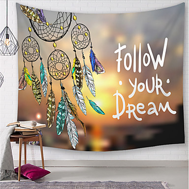cheap Wall Tapestries-5 sizes Sun Moon Tapestry Wall Hanging Hippie Witchcraft Tapiz Psychedelic Farmhouse Decor Tenture Tapisserie Beach Bohemian Custom