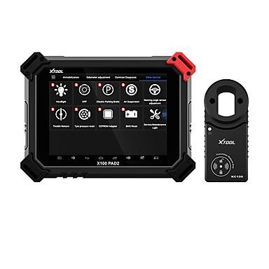 povoljno OBD-xtool x100 pad2 pro profesionalni obd2 alat za dijagnostiku automobila s ključem programera za vw 4th 5th imobilizator i podešavanje brojača kilometara