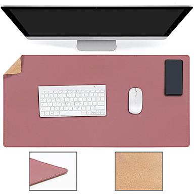 cheap Mouse Pad-PR800 800*400*2 mm Basic Mouse Pad / Large Size Desk Mat / Office Use Leather / Log Dest Mat