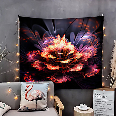cheap Wall Tapestries-Home Living Tapestry Wall Hanging Tapestries Wall Blanket Wall Art Wall Decor Flower Moon Tapestry Wall Decor