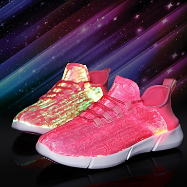 cheap Kids' LED Shoes-Boys' LED Shoes PVC Flats Little Kids(4-7ys) White / Black / Red Summer