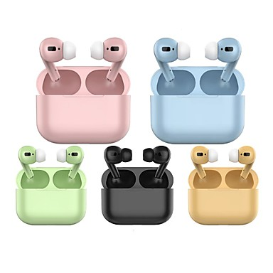 cheap Headphones & Earphones-LITBest Macaron TWS 3 True Wireless Earbuds Bluetooth 5.0 Headphones Wireless Charging Rename GPS Find My Devices (iOS) 1 to 1 Replica for Android iOS Windows Smartphones