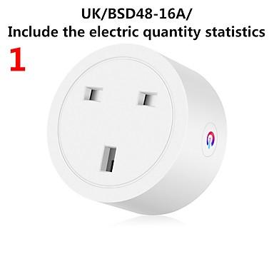 cheap Smart Plug-Smart Plug WiFi Enabled US/EU/UK Socket Remote Control Outlet Home Appliances