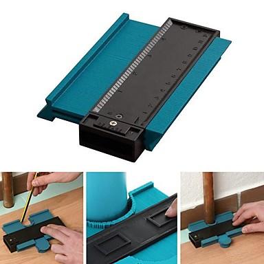 cheap Testers & Detectors-5inch  Contour Profile Gauge Tiling Laminate Tiles Edge Shaping Wood Measure Ruler ABS Contour Gauge Duplicator
