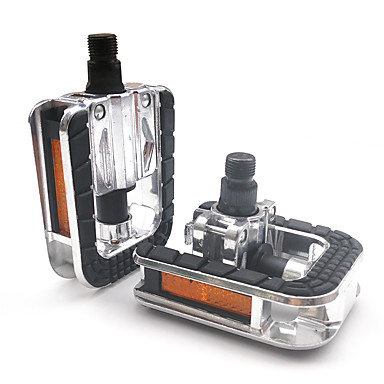 cheap Bike Parts & Components-mi.xim Bike Pedals Safety Convenient Sports 2 Bearing Aluminum Alloy Steel for Cycling Bicycle Road Bike Mountain Bike MTB BMX Silver / Black