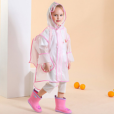 رخيصةأون المظلات-EVA للصبيان / للفتيات مقاوم للرياح / جميل / شبه شفّاف معطف المطر
