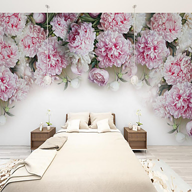 cheap Wall Art-Art Deco  Custom Self-adhesive Mural Rose is Suitable for Background Wall Coffee Shop Hotel Wall Decoration Art