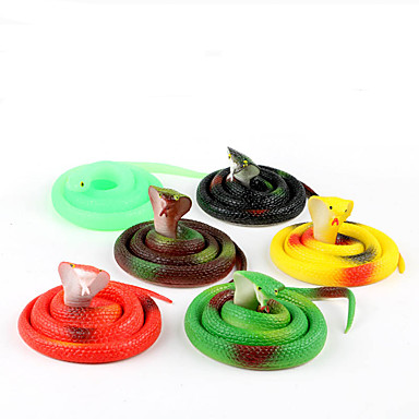 cheap Gags & Practical Jokes-Gags & Practical Joke Gag toys Snake Creative Fun Terrifying Rubber For Kid's Adults Men and Women Boys and Girls School Festival