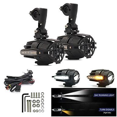 povoljno Motocikl Rasvjeta-litbest 2pcs žarulje za motocikle 40 w 4000 lm led svjetla za maglu za motocikle avenger svih godina