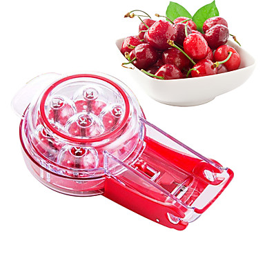 cheap Kitchen Utensils & Gadgets-Cherry Core Seed Remover Tool Fresh Fruit Cherry Seed Gadget Pitter Nuclear Device Kitchen Accessories
