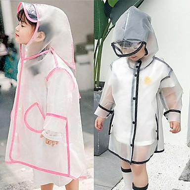 Недорогие Товары для дома-Ева водонепроницаемый детский плащ прозрачный походы ребенок с капюшоном кемпинг плащ от дождя открытый защитные аксессуары крышка