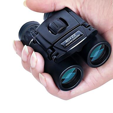 cheap Test, Measure & Inspection Equipment-40x22 HD Powerful Binoculars 2000M Long Range Folding Mini Telescope BAK4 FMC Optics For Hunting Sports Outdoor Camping Travel