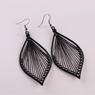 cheap Jewelry & Watches-Women's Drop Earrings Hollow Out Earrings Jewelry Black For