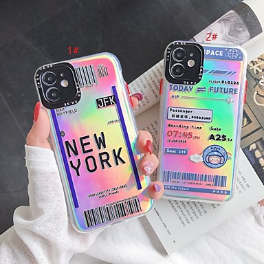 cheap iPhone Cases-Laser Word TPU for Apple iPhone Case 11 Pro Max X XR XS Max 8 Plus 7 Plus SE(2020) Protection Cover