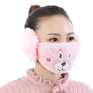 economico Protezione personale-maschera animali svegli modello vello invernale anti-polvere adulto termico maschere maschere garza salute (consegna casuale)