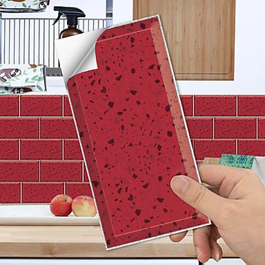 povoljno Zidne naljepnice-zidne naljepnice kuhinjske pločice otporne na ulje lako se uklanjaju vodootporan i otporan na ogrebotine 3d stereo