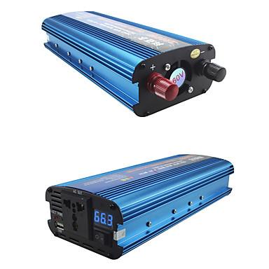 billige Strøminverterer-carmaer inverter 12v / 24v / 220v 2200w bilspenningskonverter bilomformer 12v / 24v 220v solceller inverter bil kraft inverter lader