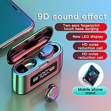 hesapli Kulaklıklar ve Kulaklıklar-LITBest 281 TWS Gerçek Kablosuz Kulaklık Bluetooth5.0 HIFI Şarj Kutusu ile Su geçirmez IPX7 Akıllı Telefonlar için Mobil Güç Akıllı Dokunmatik Kontrol Büro İşi