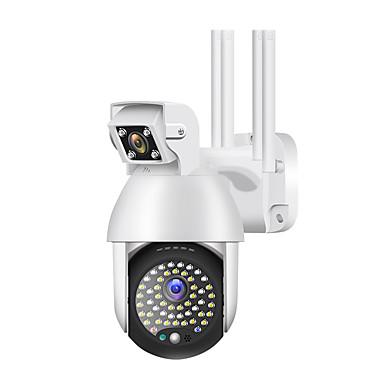billige Sikkerhet og overvåkning-50 lys 1080p utendørs wifi ptz ip kamera 2mp ip kamera utendørs sikkerhet ip66 vanntett nattesyn ycc365 app max support tf-kort 128g