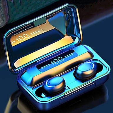 hesapli Kulaklıklar ve Kulaklıklar-Litbest f9 tws gerçek kablosuz bluetooth kulaklık larg capcity şarj bölmesi güç bankası manyetik anahtarı 8d stereo ses mini kulak koşu spor kulaklık destek ios / android cep telefonu