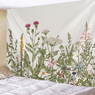 billige Veggdekor-hjem levende billedvev vegg hengende billedvev veggteppe vegg kunst veggdekor blomstermåne tapestry veggdekor