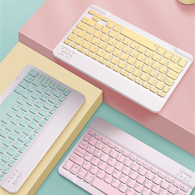cheap Keyboards-X5 Colorful Mini Wireless BT Keyboard For Android Tablet Bluetooth5.0 Keyboard