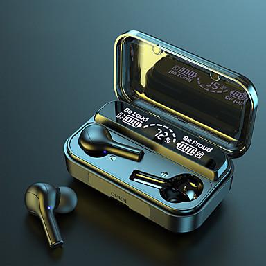 hesapli Kulaklıklar ve Kulaklıklar-Litbest f9-278 tws 2000 mah şarj kutusu ile kablosuz bluetooth kulaklık güç bankası uzun çalışma süresi led dijital ekran dokunmatik kontrol stereo ses su geçirmez kulaklık spor hiçbir gecikme oyunu k