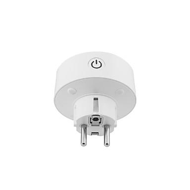 billige Smartplugger-smart plugg om-ws007 for kjøkken / stue / studiestemmestyring / intelligent / energiovervåking wifi trådløs 90-250 v