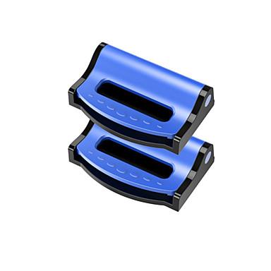 cheap Car Seat Covers-2PCS/Set Universal Car Seat Belts Clips Safety Adjustable Auto Stopper Buckle Plastic Clip 4 Colors Interior Car Accessories