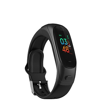 cheap Smart Wristbands-V08 Pro 2-IN-1 Smart Watch Fitness Tracker Bluetooth Headset Heart Rate Monitor Activity Tracker Pedometer Smart Bracelet