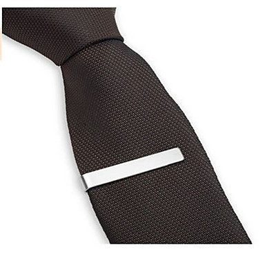 cheap Tie Bar-Men's Tie Clips Stylish / Luxury / Classic Steel Stainless Formal Evening / Quinceañera & Sweet Sixteen / Party & Evening Tie Bar