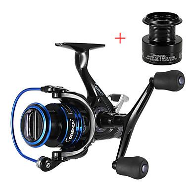 cheap Fishing-Fishing Reel Spinning Reel 5.51 Gear Ratio+10 Ball Bearings Hand Orientation Exchangable Carp Fishing