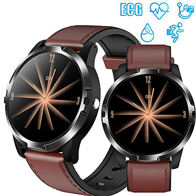 cheap Smartwatches-GO3 Smart Watch ECG HRV Fashion Sport Smart Wristband Heart Rate Blood Oxygen Pressure Monitoring Smart Bracelet IP67 Waterproof with i7s TWS Wireless Earphones Bluetooth headphones