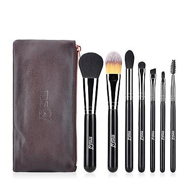 cheap Makeup Brush Sets-Professional Makeup Brushes 7pcs Professional Soft Full Coverage Artificial Fibre Brush Wooden / Bamboo for Blush Brush Foundation Brush Lip Brush Eyeshadow Brush