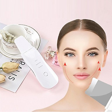 cheap Facial Care Device-Skin Scrubber Facial Cleansing Peeling Machine Blackhead Remover Pore Cleaner  Anti Aging Facial Massager EMS Mesotherapy