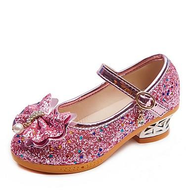 رخيصةأون أحذية الأطفال-للفتيات مريح المواد التركيبية كعوب الأطفال الصغار (4-7 سنوات) أرجواني / فوشيا / زهري الصيف