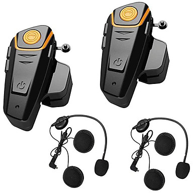 billige Hodetelefoner til hjelm-2stk bt-s2 intercomfunksjoner automatisk svarfunksjon, nyt musikken Bluetooth-hjelm håndfri for all slags vannbestandighet