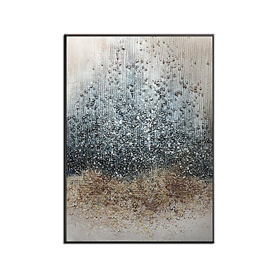 cheap Oil Paintings-100% Hand painted Large Abstract PaintingModern abstract paintingoil hand paintingoffice wall artoriginal abstracttextured art Hand Painted Rolled Without Frame