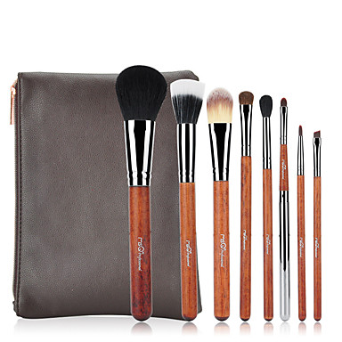 cheap Makeup Brush Sets-Professional Makeup Brushes 8pcs Professional Soft Full Coverage Artificial Fibre Brush Wooden / Bamboo for Foundation Brush Makeup Brush Lip Brush Eyebrow Brush Eyeshadow Brush