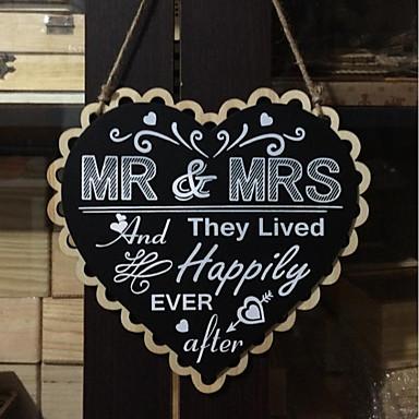 cheap Wedding Decorations-Unique Wedding Décor Wood Wedding Decorations Wedding / Wedding Party Wedding / Heart All Seasons