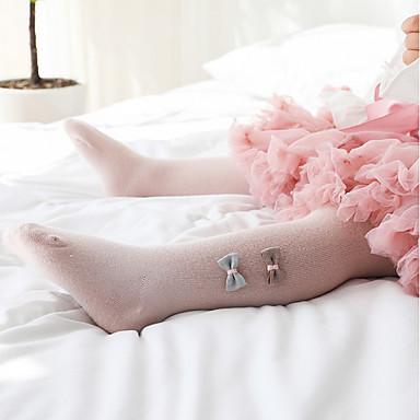 cheap Girls' Underwear & Socks-Kids Toddler Girls' Solid Colored Underwear & Socks White