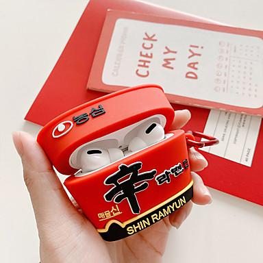 billige AirPods Cases-Etui Til AirPods / AirPods Pro Støtsikker Headphone Case Myk