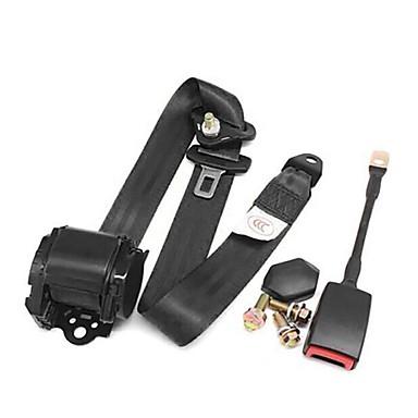 billige Setetrekk til bilen-universal trepunkts automatisk bilbelte for bilstopper avstand grense spenne klemmeholder justerbar sikkerhetsbelte med kamlås