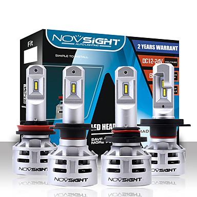 billige Automotiv-NOVSIGHT 2pcs H7 / H11 / 9005 Bil Elpærer 60 W 10000 lm LED Hodelykt Til Universell General motors Alle år