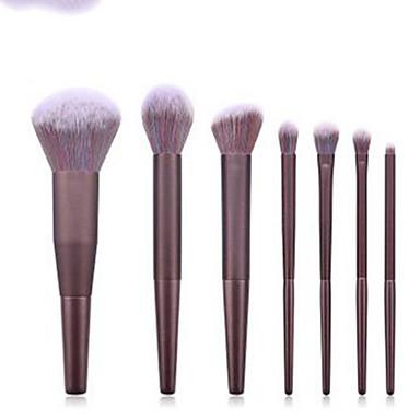 cheap Makeup Brush Sets-Professional Makeup Brushes 7pcs Professional Soft Full Coverage Comfy Wooden / Bamboo for Eyeliner Brush Makeup Brush Eyeshadow Brush