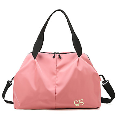 cheap Luggage & Travel Bags-Travel Bag Oxford Cloth Waterproof Walking Zipper Solid Color Sports & Outdoor Outdoor Gym Black / Dusty Rose / Pink / Sky Blue / Unisex