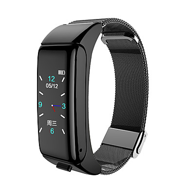 cheap Smartwatches-B6 SmartWatch With NFC Cloud Chip Call Bracelet smart watches Men Sports fitness tracker Heart Rate