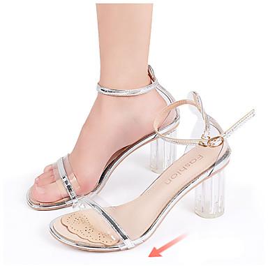 رخيصةأون اكسسوارات الأحذية-1 زوج يمكن ارتداؤها نعال و حشوات تقليد الجلد أمامي الصيف للجنسين اللوز