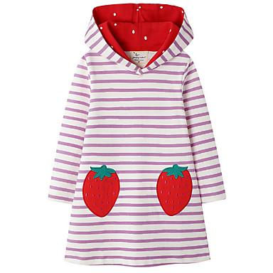 رخيصةأون شاهد أفضل البائعين لدينا-فستان مخطط لطيف للفتيات أطفال